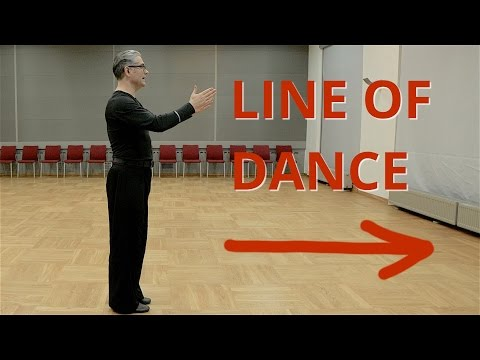 How to move around floor | Line of Dance in Ballroom