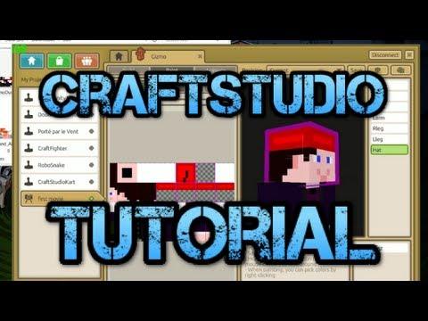 Tutorial - Create a Minecraft Character in CraftStudio