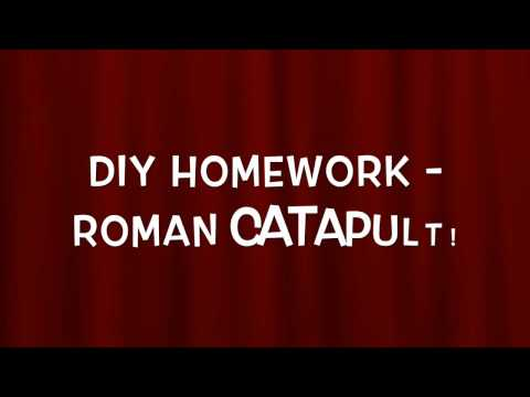 How to make a Roman Catapult