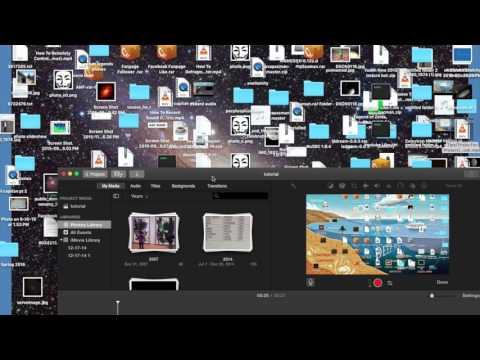 Full iMovie Tutorial  How To Edit, Remove, Or Replace A Video File Audio Full Walkthrough
