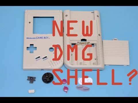 Game Boy DMG Replacement Shell Review and Install