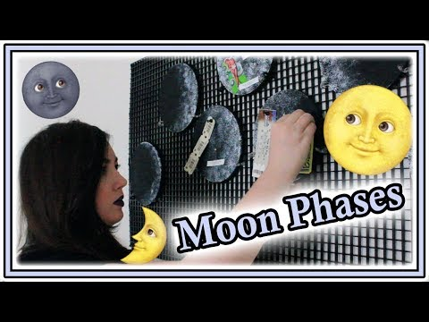 How to Make Moon Phase Cork Boards