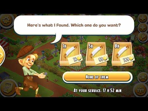 Spending 15 Diamonds Hiring Tom To Clear My Farm - Hay Day Level 79   Part 11 - Freedom Farm
