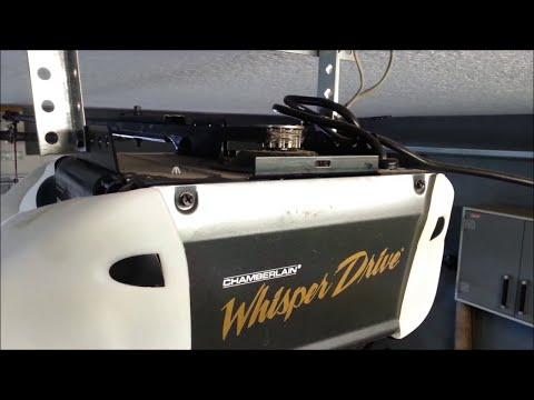 How to Install Remove Replace a Garage Door Opener Belt Lifetime Warranty