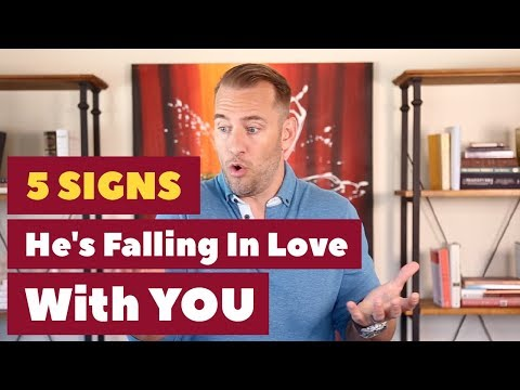 5 Signs He's Falling In Love With YOU  | Dating Advice For Women By Mat Boggs