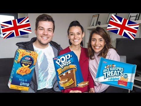 British People Try American Snacks