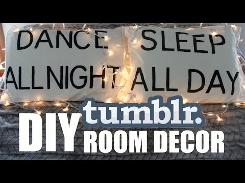 3 DIY TUMBLR Room Decor Ideas!