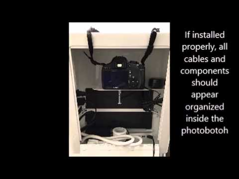 How to install T10 Photo Booth Electrical components