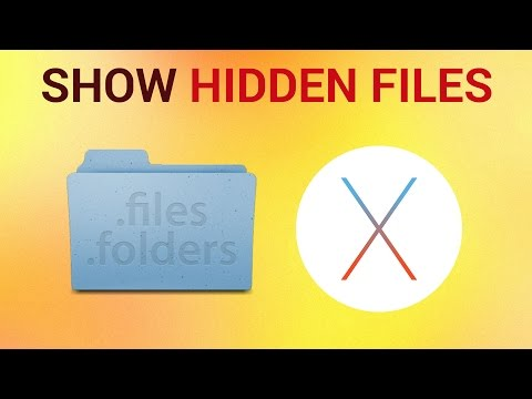 How to Show Hidden Files on Mac