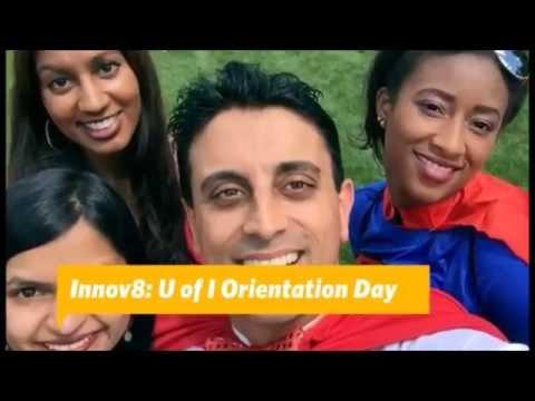 Innov8 Superheroes of Medicine at the University of Illinois Orientation Day