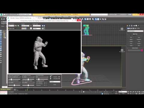 3ds Max Tutorial - Render an Animation as an AVI File Format