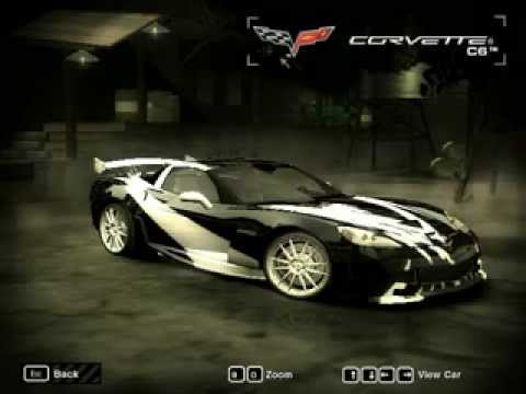 How To Make Cross's Chevrolet Corvette in NFS Most Wanted