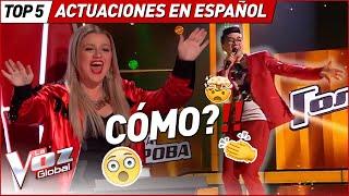 NADIE esperaba que cantaran en ESPAÑOL en estos países en La Voz