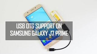 Samsung Galaxy J7 Prime USB OTG Support | Techniqued