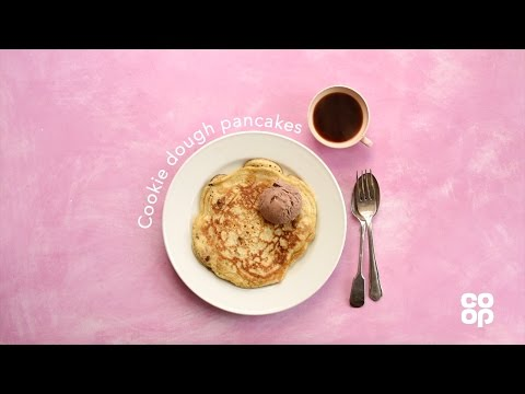 Co-op Food | How to Make Cookie Dough Pancakes
