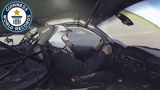 360° video - Fastest Side Wheelie - Guinness World Records