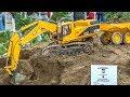 RC trucks, tractors and HEAVY MACHINES! 2014 oldschool footage!