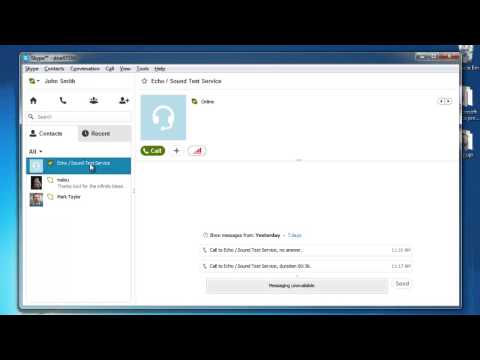 How to Test Audio in Skype