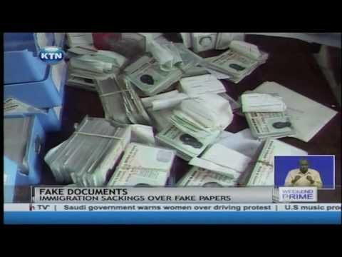 Government cartels selling fake documents