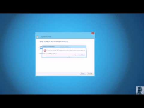 Creating windows hosts file shortcut to open with notepad as administrator