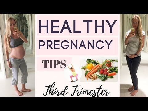 Healthy Pregnancy//VEGAN//3rd Trimester