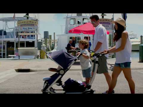 Entourage Best Double Stroller and Sit and Stand Stroller