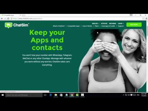 How to Buy ChatSim Online For Free Internet - Tamil Tutorials