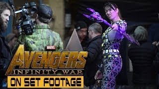 Download Leaked Behind The Scenes clips [Avengers Infinity War] Video