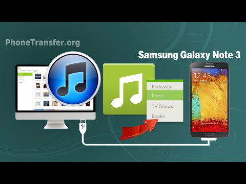 [TunesGo for Android]:  How to Sync Music, Playlist from iTunes to Samsung Galaxy Note 3 on Mac OS X