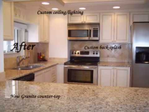 Cabinet Refacing Before & After Photos