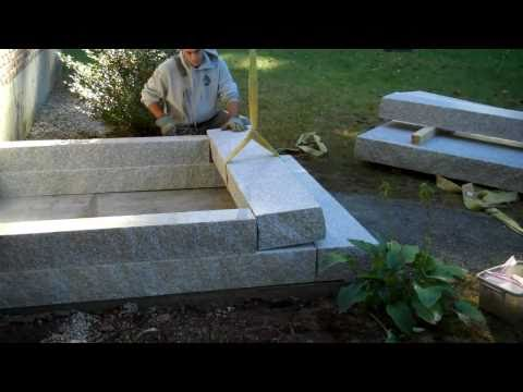 Granite Steps Installed