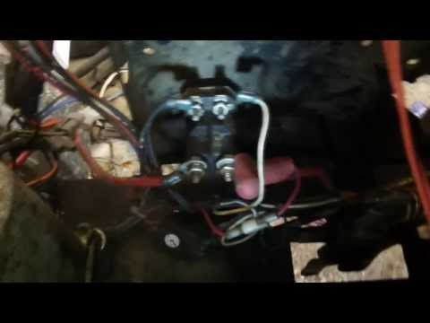 Solenoid Test Craftsman lawn tractor