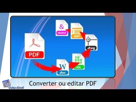 Como converter de PDF para Excel ou Editar PDF - Able2Extract 11
