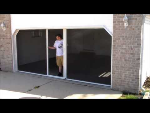 It's a Breeze Garage Door Screen System