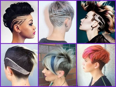 25 Cute Undercut  For Girls  - Trendy Haircuts 2018