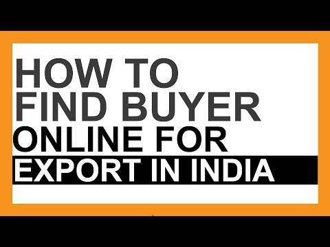 How To Find Buyers Online For Export  | Dhaval Malvania   | Malvania International