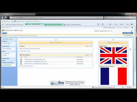 PointFire - Web Part Language Display