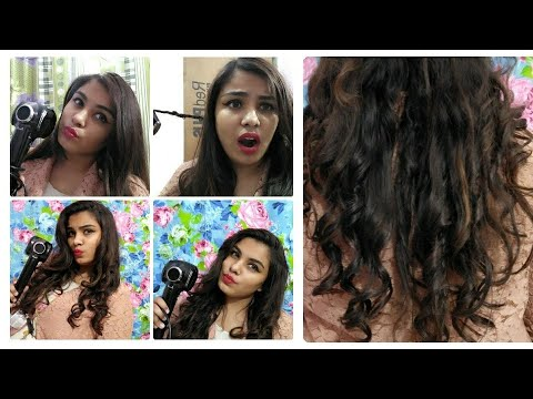 Showliss automatic hair curler review & demo in hindi  how to use automatic hair curler  trendystyle