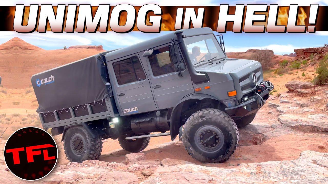 $385,000 Mercedes UNIMOG vs Hell's Revenge: Move Over Bronco & Wrangler There's a New Boss in Moab!