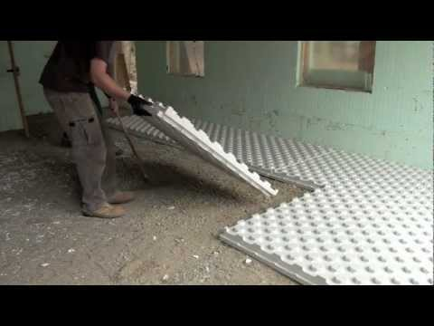 Radiant Heat Insulation - Installation Video