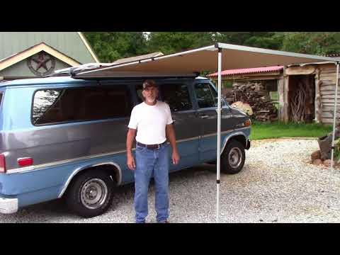 Awesome ARB awning for the Camping van ~DIY