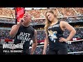 FULL SEGMENT The Rock And Ronda Rousey Confront The Authority WrestleMania 31 WWE Network