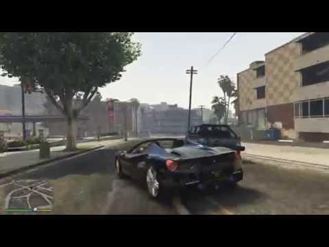 GTA 5 Ferrari 488GTB