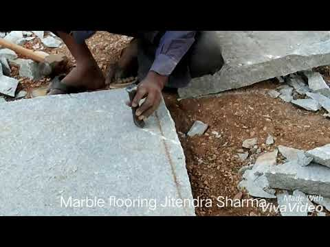 How to cut GRANITE by hand