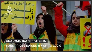 Iran protests: Rouhani justifies fuel price rise decision