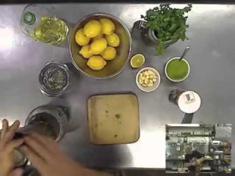 Making Cilantro Sauce