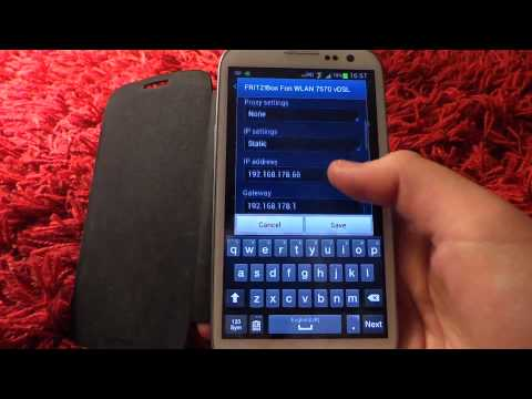 Change Ip Address and Proxy Settings On the Samsung Galaxy s3 And s3 Mini