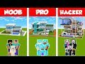 Download  Minecraft NOOB vs PRO vs HACKER: SAFEST FAMILY HOUSE BUILD CHALLENGE in Minecraft / Animation MP3,3GP,MP4