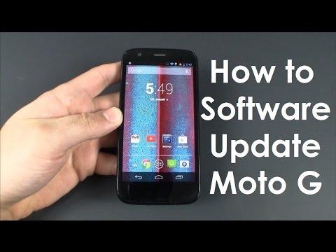 Moto G Software Update