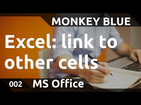 Excel: how to link to cells in other sheets and files